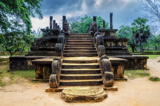Ancient Ruins of Polonnaruwa.